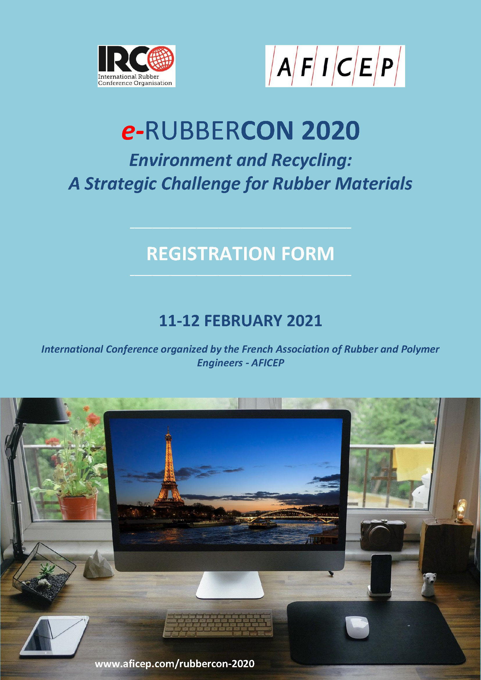 RUBBERCON 2020 REGISTRATION FORM Page 1